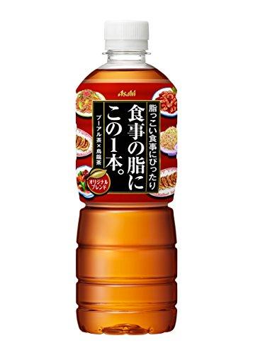 スマートマットライト アサヒ飲料 食事の脂にこの1本。 お茶 ペットボトル 600ml×24本