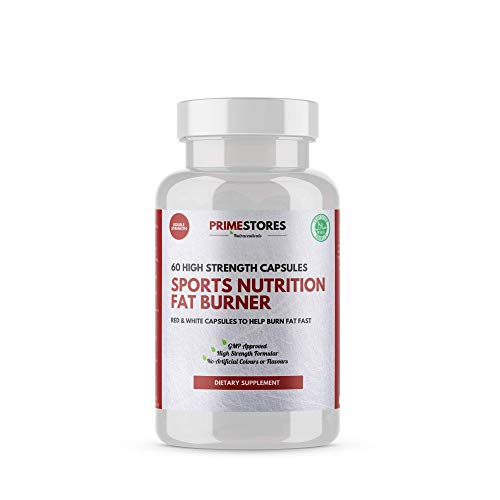 Nutrition Fat Burner Weight Loss Keto Tablets - 60 Capsules - High Strength Halal Fast Diet Slimming Burner Pills Supplement by Primestores