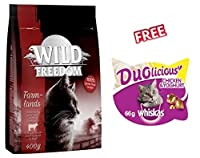 Wild Freedom Economy Pack 3 x 2kg is a premium, complete dry cat food inspired by your cat's natural instincts. It provides your cat with a delicious, species-appropriate nutrition and is suitable for adult cats of all breeds. Nutritious dry food for...