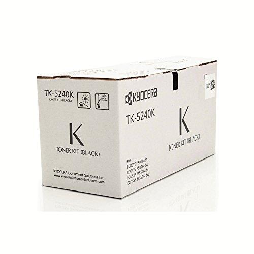 Kyocera Original 1T02R70NL0 / TK-5240K, für ECOSYS M 5526 cdw Premium Drucker-Kartusche, Schwarz, 4000 Seiten