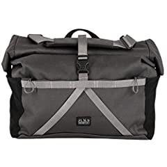 Note: The front carrier block is sold separately. Please note: The Brompton T bag is not suitable for S-type Brompton handlebars (the straight ones) Comes supplied with a shoulder strap and a high visibility rainproof cover. Capacity: 28 litres (appr...