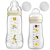 MAM Easy Active Baby Bottle Set de 270 ml + 330 ml, neutral.