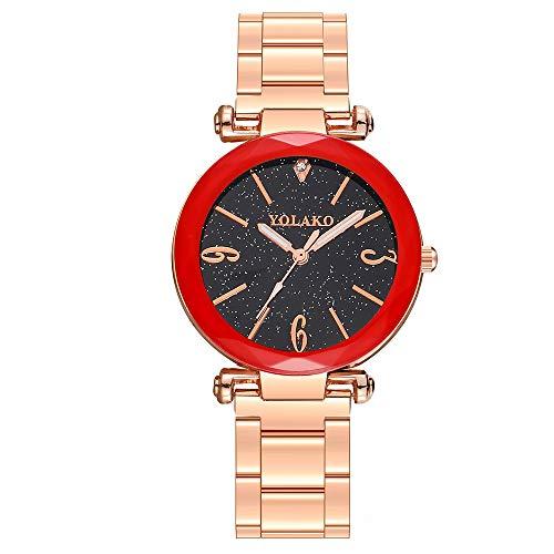 Ausverkauf Frauen Armbanduhr Uhren Analog Quarz, Damen Mädchen Mode Elegant Beiläufig Kleid Uhr Schlank Einfachheit Geschäft Geschenke LEEDY 2019 Neu