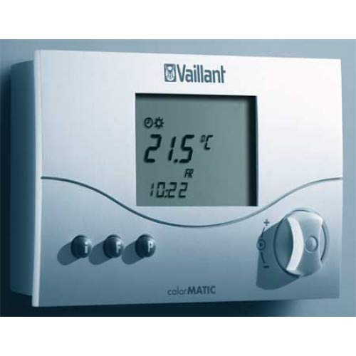 Vaillant calorMATIC 470(f) - Thermostate (Schwarz, Weiß, LED)