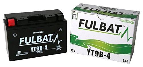 Batterie FULBAT yt9b-4 12 V 8 Ah 115 A