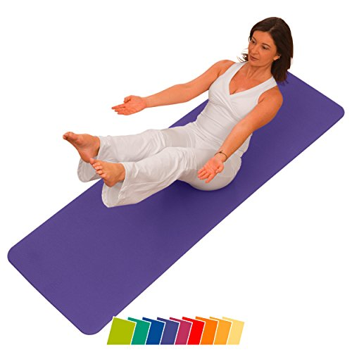 Airex - Esterilla para Pilates y Yoga, Color púrpura (Lila)