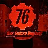 Beatle - Lámpara de ilusión 3D, decoración de habitación adolescente, 16 colores, cambio automático, decoración de escritorio, regalo de cumpleaños con mando a distancia U1
