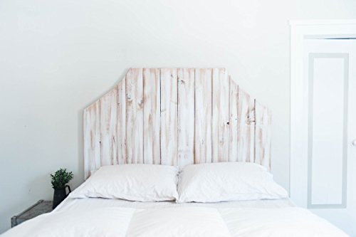 Give your husband a wooden headboard for your 5th wedding anniversary