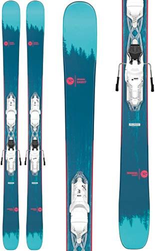 Rossignol Sassy 7/Xpress 10 Ski Package Womens Sz 160cm White/Sparkle