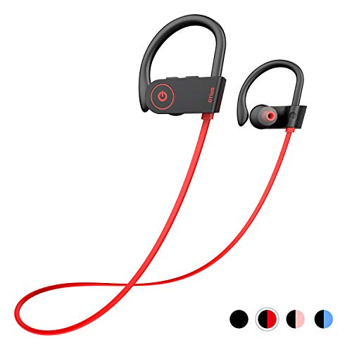 Otium Bluetooth Headphones, Best Wireless Earbuds IPX7 Waterproof Sports Earphones w/Mic HD Stereo...