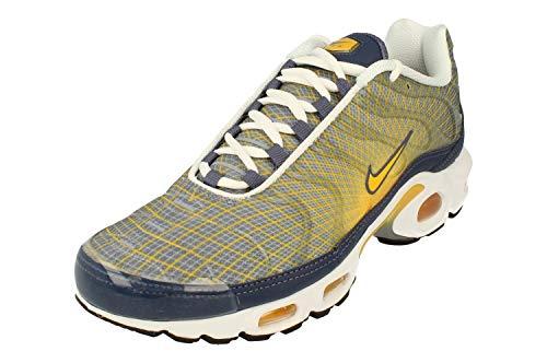 Nike Air Max Plus OG Herren Running Trainers BV1983 Sneakers Schuhe (UK 6 US 7 EU 40, Steel Spun Yellow White Black 500)