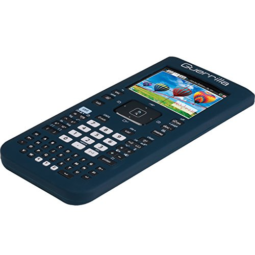 Guerrilla Silicone Case for Texas Instruments TI Nspire CX/CX CAS Graphing Calculator, Navy Photo #5