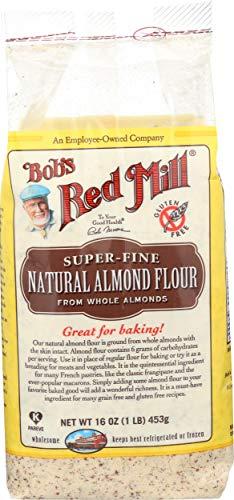 Bob's Red Mill Gluten Free Super-Fine Natural Almond Flour, 16 oz