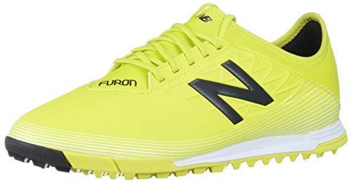 New Balance Men's Furon V5 Dispatch Turf Soccer Shoe, Sulphur/Phantom, 12.5 Wide