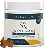 Petlab Co. Joint Chews for Dogs | Canine Hip and Joint Support | High Levels of Glucosamine, Omega 3, Turmeric, Vitamins and Minerals