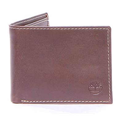 Timberland Men's Leather Passcase Brown One Size