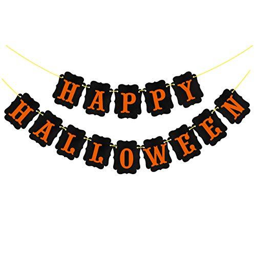 Happy Halloween,Papier Banner Spinnennetz Kuchen Topper Fledermaus Muster Latex Ballon Kürbis Nachtlicht Halloween Party Dekor liefert Party DIY Dekorationen