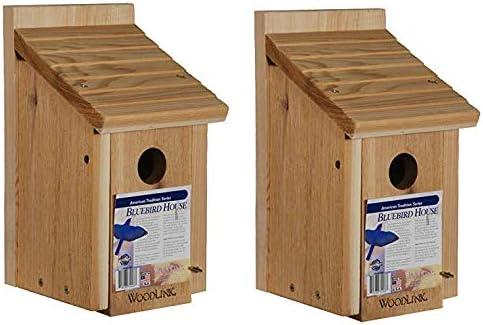 Woodlink Wooden Genuine Bluebird House - Wood Model Pack 2 BB1 5 popular