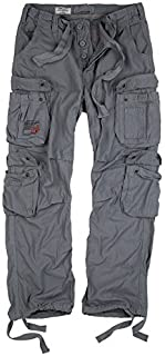 Surplus Raw Vintage Men's Trousers Grey grey Large