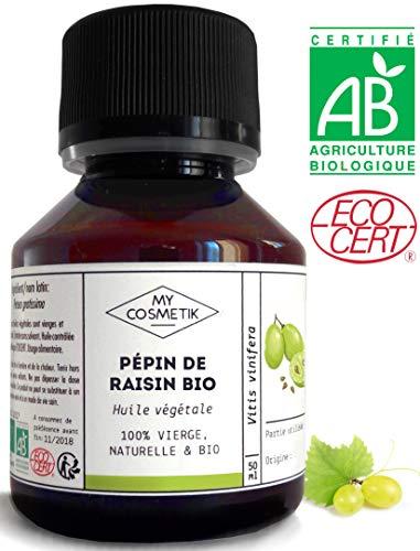 Huile végétale de pépin de Raisin BIO -...