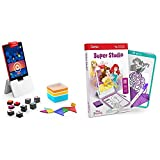Osmo - Genius Kit for Fire Tablet - 5 Hands-On Learning Games (Ages 6-10) + Super Studio Disney Princess Game Bundle (Ages 5-11) Fire Tablet Base Included - Amazon Exclusive