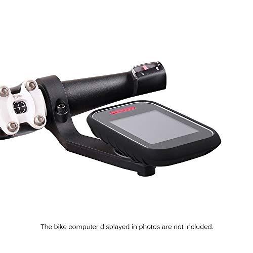 Preisvergleich Produktbild Stark und langlebig Für 31, 8mm oder 25, 4mm Lenker Fahrrad Rennrad Radfahren MTB Computer GPS Schützen Fall Schützende Silikonhülle Haut Fahrrad Computer Halterung Set für GPS Polar V650 universelles F