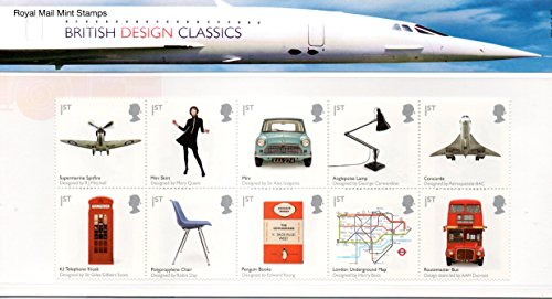 Britisches Design Klassiker Präsentation Pack Stempeln