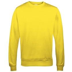 Yellow Adult Sweatshirt