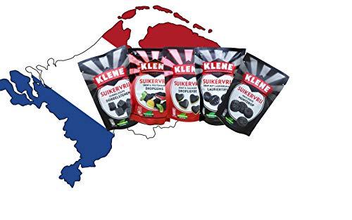 Zuckerfreies Lakritz Paket von KLENE - holländisches KLENE Lakritz - holländisches Lakritz