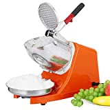 Smartxchoices Electric Ice Shaver Machine Ice Snow Cone Maker for Home Commercial Use 143 lbs New,...