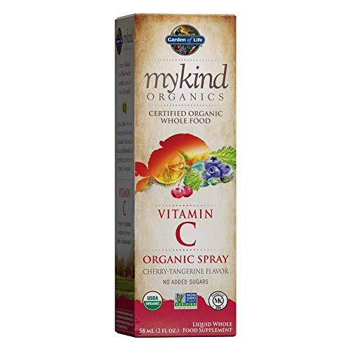 Garden of Life Mykind Organic, Vitamin C Organic Spray, Cherry-Tangerine - 1 Units
