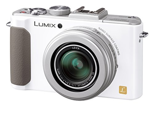 パナソニック デジタルカメラ ルミックス LX7 光学3.8倍 ホワイト DMC-LX7-W