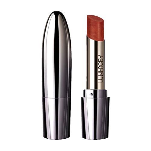 Auifor Zeemeermin Ji glanzende metallic lippenstift met gouden coating. 02#