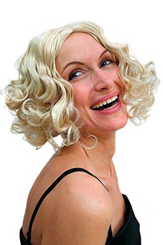 WIG ME UP Parrucca, Hollywood, Diva, Colore Biondo, Anni 20, Burlesque