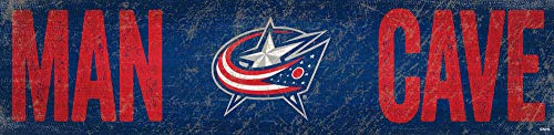 NHL Columbus Blue Jackets Unisex Columbus Blue Jackets Man Cave Sign, Team, One Size