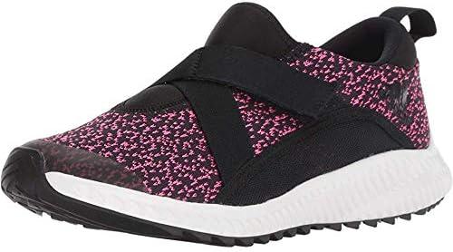 adidas Originals Unisex-Kids Fortarun Running Shoe, Black/Real Magenta/Black, 7 M US Big Kid