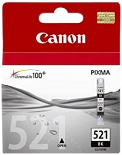 CLI-521 Black Ink Tank; Blister with Security; for PIXMA iP3600/PIXMA MX870 (2933B008)