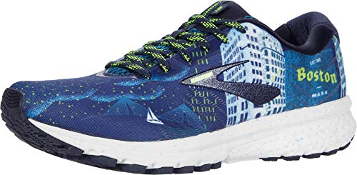 Brooks Ghost 12 Herren-Laufschuh, (Marineblau/Blau/Nightlife), 44 EU