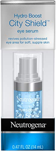 Price comparison product image Neutrogena Hydro Boost City Shield Hydrating Eye Serum with Hyaluronic Acid,  Antioxidants,  and Multivitamin Capsules for Pollution Stressed Skin,  Oil-Free and Non-Comedogenic.47 fl. oz