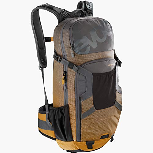 evoc FR Enduro Protektor Rucksack, Carbon Grau/Lehm Gelb, M/L