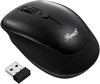 Rosewill Portable Cordless Compact Travel Mouse