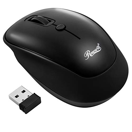 Rosewill RWM-001 Portable Cordless Compact Travel Mouse $5.60