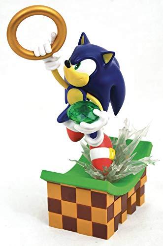Diamond Select Toys Sonic The Hedgehog: Sonic PVC Statue (DEC192345)