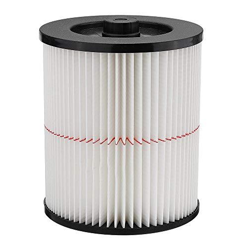 LYYCEU Filtre à Cartouche d'air pour la Cartouche d'air pour la Boutique VAC CRAFTMAN 17816 9-17816 Filtrer Le Filtre à air Humide/Sec de Remplacement Fit 5 gallons et Plus Grand aspirateur