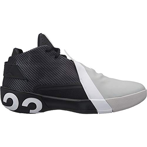 Jordan Ultra Fly 3, Zapatillas de Baloncesto Hombre, Multicolor (Black/White/Lt Smoke Grey 001), 48.5 EU
