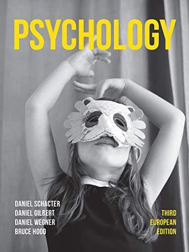 Psychology: Third European Edition