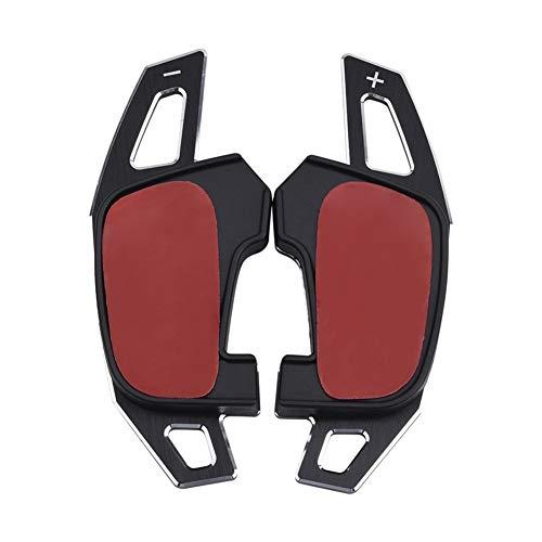 XINLIN Ruderude Cambio de dirección de Coches de Ruedas paletas DSG Paddle Shift extensión Shifter reemplazo for VW GTI R Golf7 Rline GTE GTD MK7 (Color : Black)