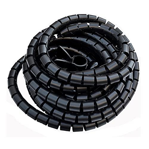 shjjyp Organizador Cables Recoge Cables De Material PVC AutomáTico Cubre Cables para...