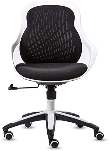 WYL Executive Recline Conference Chair, Breathable Comfortable Easy to Clean Chair Computer Desk and Chair Office Chair Student Chair Padded Office Chair (Color : Black)