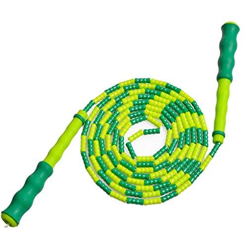 Floridivy Hombres Mujeres Suave Moldeado de Saltar la Cuerda Niños Gratis segmentado Aptitud Skipping Rope Deportes Suministros
